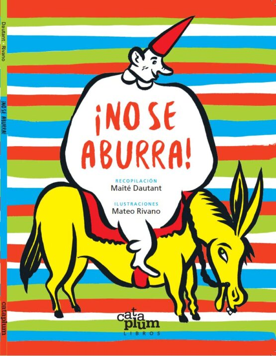 No se aburra un libro infantil de la Editorial Cataplum Libros - Grillito lector