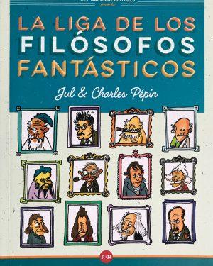 La liga de los filósofos fantásticos - Grillito lector