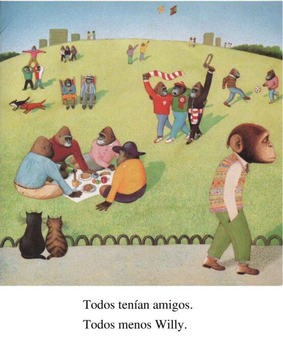 Willy y Hugo. Anthony Browne