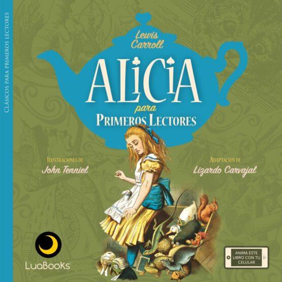 Alicia para primeros lectores libro de Luabooks - Grillito lector