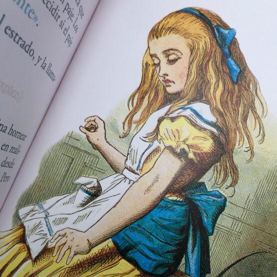 Alicia para primeros lectores libro de Luabooks
