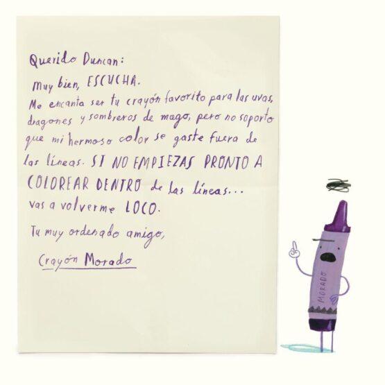 El día que los crayones renunciaron - Oliver Jeffers
