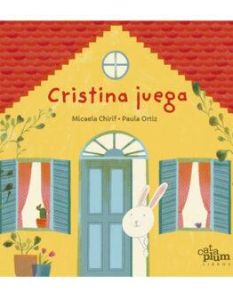 Libro de cuentos para niños. Cristina juega