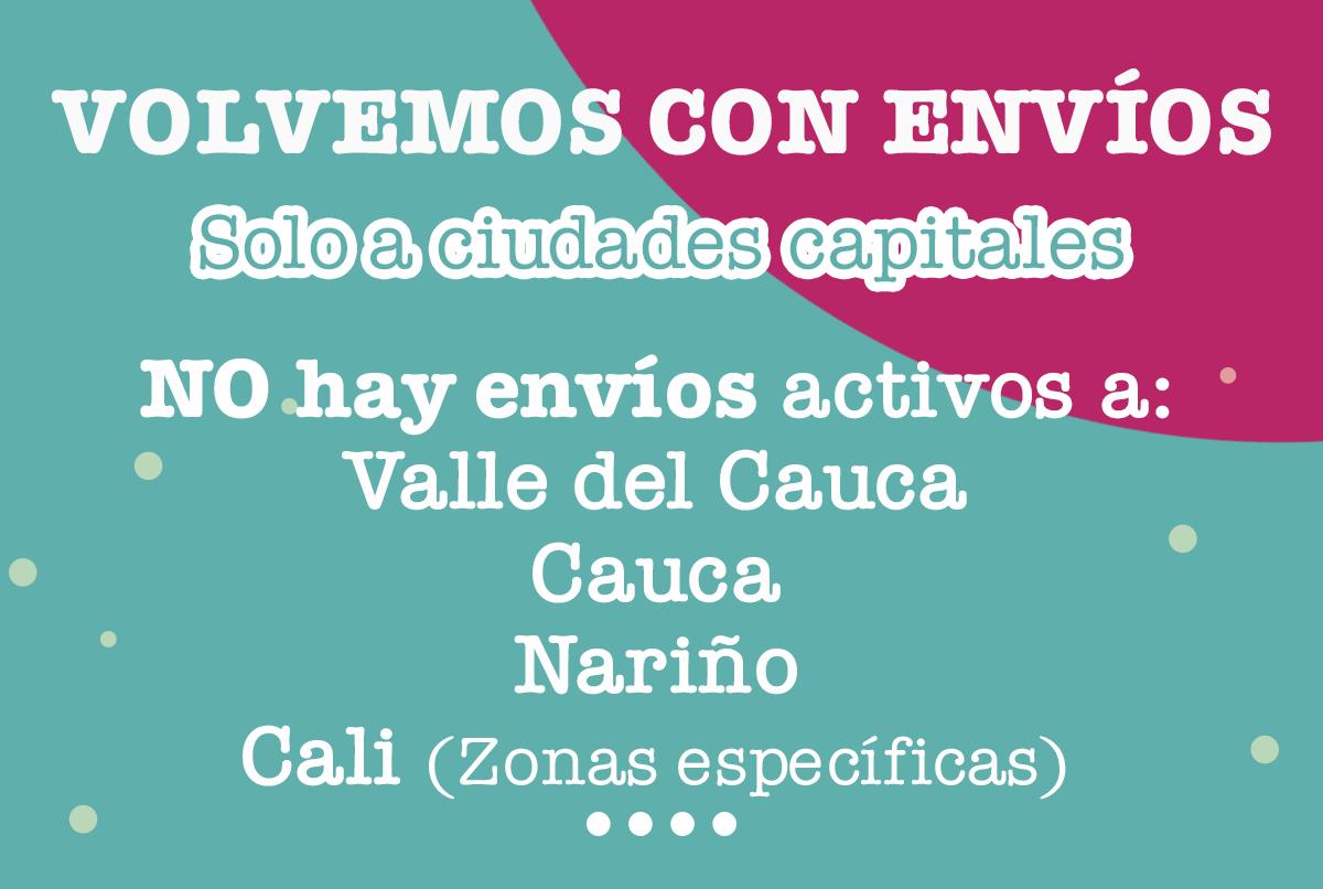 Envios ciudades Colombia